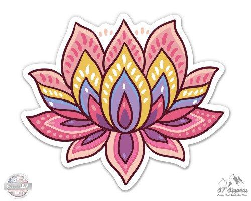 - Lotus Flower Cute Om Yoga Meditation - 3