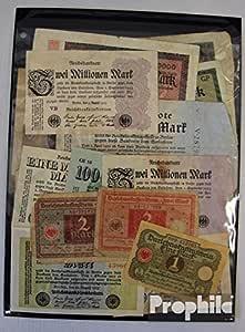 Prophila Collection alemán Imperio 15 Diferentes Billetes de Weimar república (Billetes para los coleccionistas): Amazon.es: Juguetes y juegos