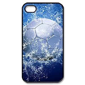 Hard Shell Case Of Football Customized Bumper Plastic case For Iphone 4/4s
