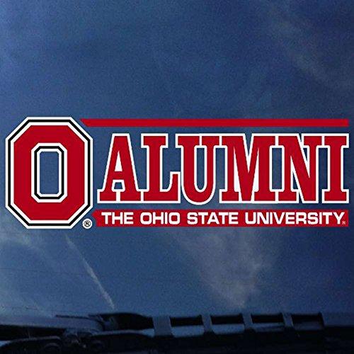 CDI Ohio State Buckeyes Decal - Logo W/Alumni - ALT (Alumni Decal)