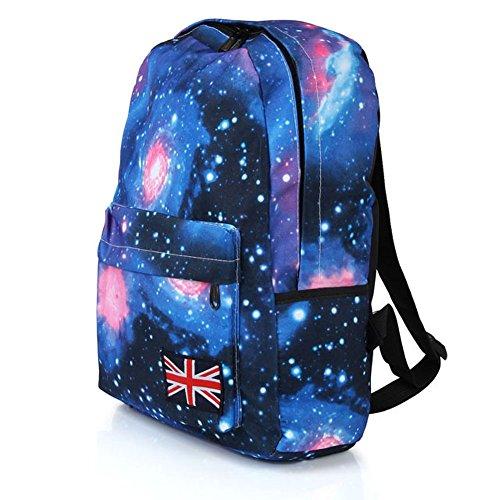 BestWare Galaxy Pattern Backpack Bookbags