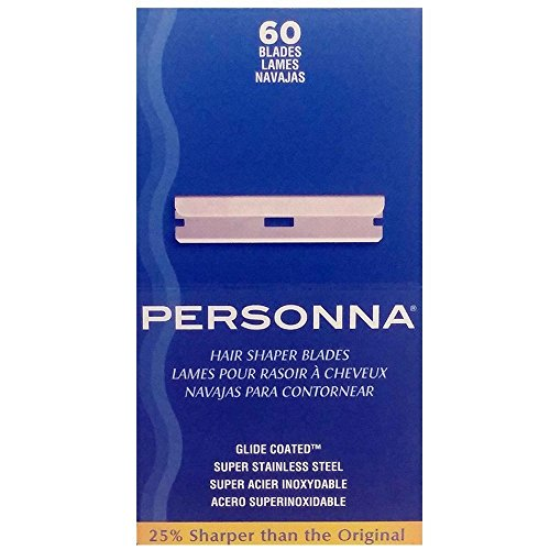 (Personna Hair Shaper Blades, 60 Count)