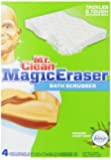 Mr. Limpiar borrador mágico, Estropajo para el baño, 4 unidades, MagicEraser Foaming Bath Scrubber with Febreze, 4 Ct
