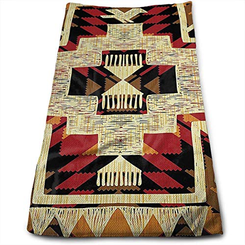 Mop Native (SDHEIJKY Native American Towels Kitchen Bar Mop Cleaning Towels (12 X 28 Inch))