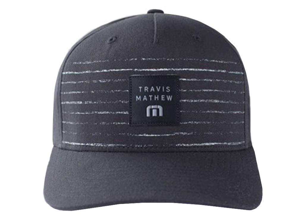 Amazon.com   Travis Mathew Edmiston Fitted Hat White   Clothing c8a2aa0be2b9