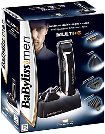 BaByliss Multi 6 en 1 E823E - Kit multifunción para cabello y ...