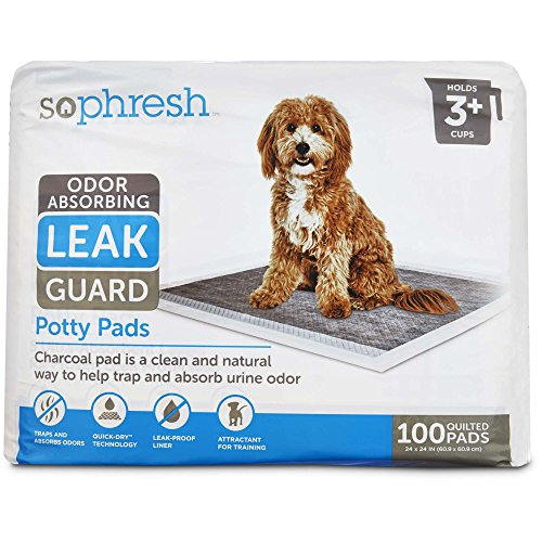 So Phresh Odor Absorbing Leak Guard Potty Pads, Count of 100, 100 CT ()