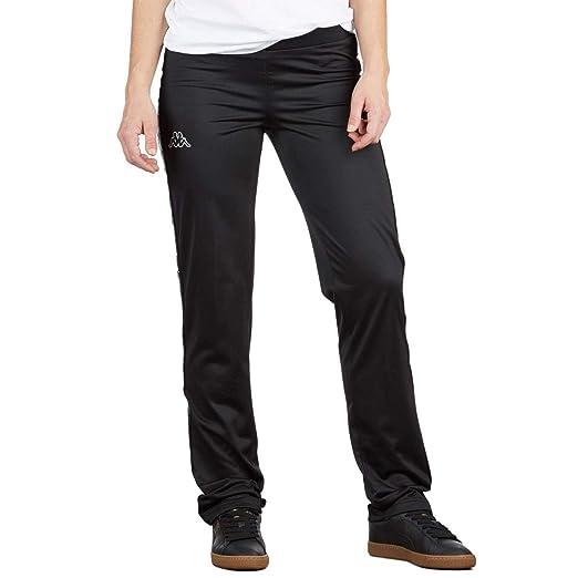 4bc7d1bd41 Kappa Womens 222 Banda Wastoria Pants - Black/White - LG at Amazon ...
