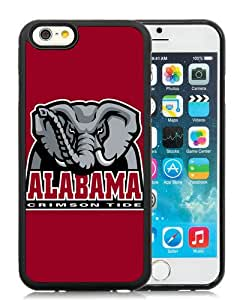 Fashion And Unique iPhone 6 4.7 Inch TPU Case Designed With Southeastern Conference SEC Football Alabama Crimson Tide 5 Black iPhone 6 Cover