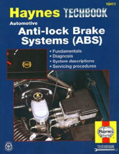 H10411 Haynes Automotive Anti-lock Brake Systems ABS Manual