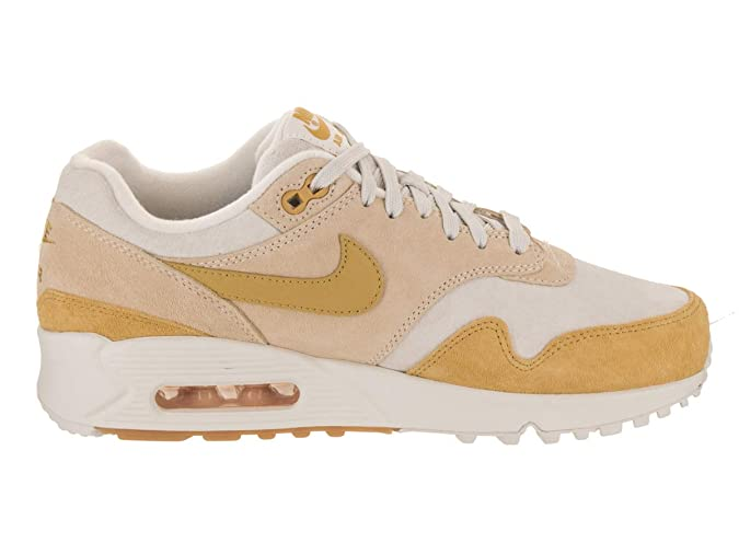 8992c251e7 Amazon.com   Nike Air Max 90/1 Women's Shoes Guava Ice/Wheat Gold/Summit  White aq1273-800   Road Running