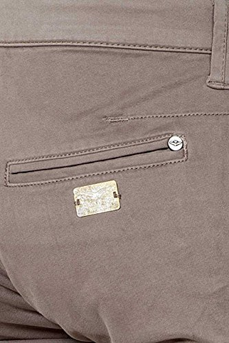 Aeronautica Militare - Pantalón - para mujer marrón claro