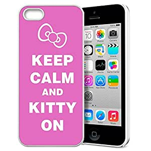 FUNNY DIY KEEP CALM AND DRINK SWEET TEA Pattern HD Durable Hard Plastic Case Cover for Apple iphone 5/5s