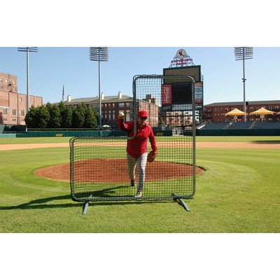 Trigon Sports Procage Pitcher's L-Screen Replacement Net, 7 x 7-Fet by Trigon Sports