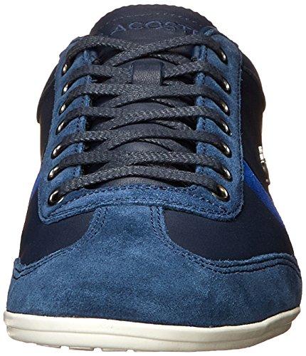 Lacoste Mens Misano 33 Mode Sneaker Mörkblå