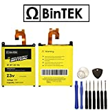 BINTEK Sony Xperia Z3v Battery Replacement 3200 mAH Li-Polymer Premium Battery Sony Xperia Z3v with Tools / Compatible with model D6708