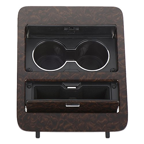 OEM NEW Center Console Cup Holder Storage Woodgrain 09-14 Chevrolet GMC ()
