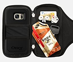 Sporteer Velocity V150 Universal Armband for Smartphones with Cases - Fits All Smartphones/Cases Up to 150mm X 78mm - Strap Size S/M (Black)