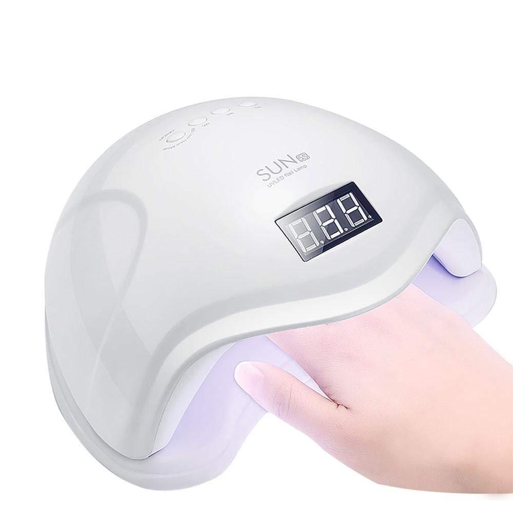 UV Nail Lamp, leegoal 48W UV-LED-Nagel Trockner mit 4-Timer-Einstell Sensor für Gel-Nägel und Zehennagel-Aushärtung