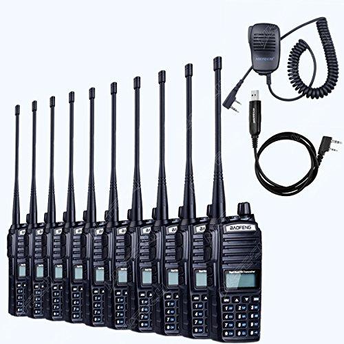 Baofeng/Pofung UV5R VHF/UHF Dual Band Two-Way Radio (Black) - 9