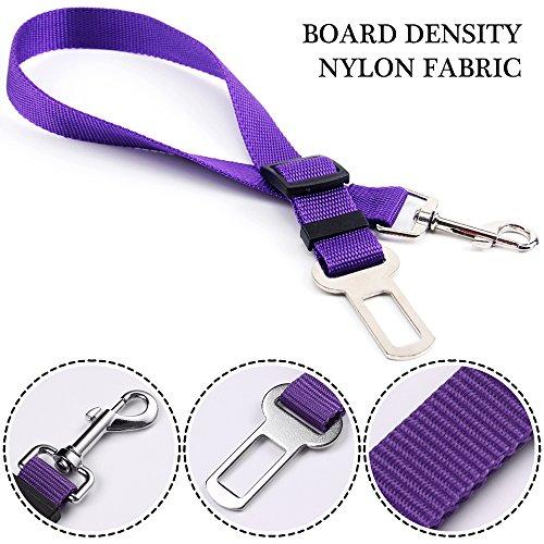 Dog Vehicle Seat Belt Tether Safety Harness Nylon Fabric Free