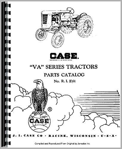 Read Online Case VAO Tractor Parts Manual PDF