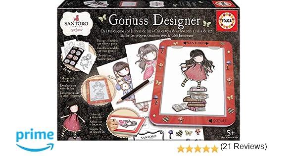 Educa Borrás (18238) Mesa De Diseño de luz Gorjuss Designer ...
