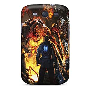 Tpu Lilyercase Shockproof Scratcheproof Gears Of War 3 Hard Case Cover For Galaxy S3
