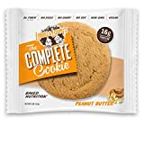 Lenny & Larry's The Complete Cookie, Peanut Butter, Soft Baked, 16g Plant Protein, Vegan, 4-Ounce Cookies (Pack of 12)