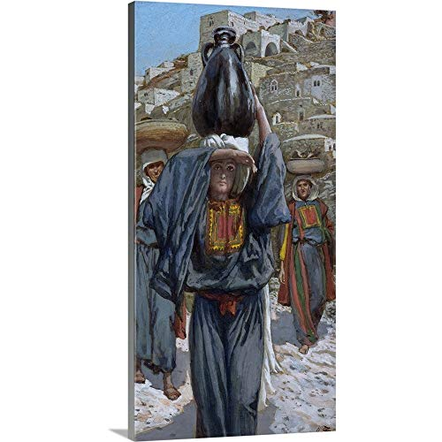 GREATBIGCANVAS Gallery-Wrapped Canvas Entitled Martha, Illustration for The Life of Christ, c.1886-94 by James Jacques Joseph Tissot 24