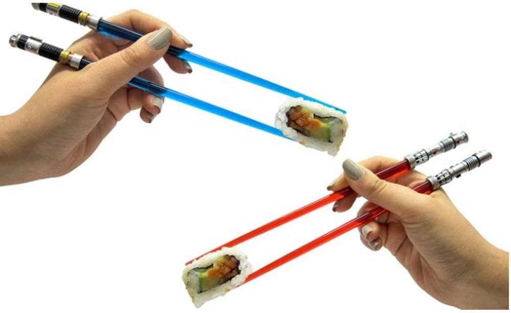 Star Wars EP6 Skywalker Lightsabor Chopstick Ships from Japan