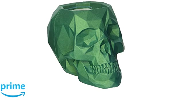Skull Turquoise Candellana Candles Candlefort Concrete Candle Scent for Him