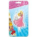 Candela di compleanno originale Disney della principessa Aurora - candele per torte e dolci di compleanno