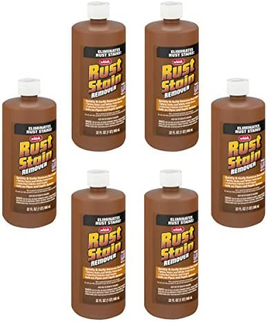 Whink Rust Stain Remover 32 Ounce (Pack of 6)