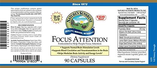 Focus Attention 90 Caps