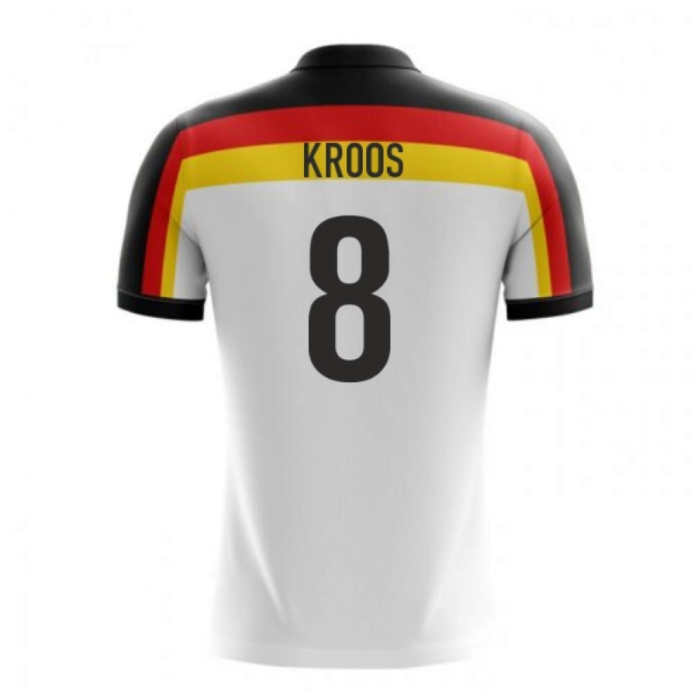 183887eb Amazon.com : Airosportswear 2018-2019 Germany Home Concept Football Soccer  T-Shirt Jersey (Toni Kroos 8) - Kids : Sports & Outdoors