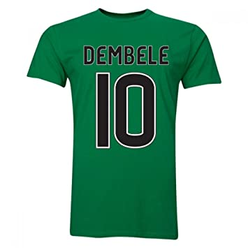 13e9e75b2d96e Moussa Dembele Celtic T-Shirt (Green): Amazon.de: Sport & Freizeit