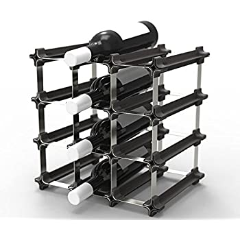 Amazon Com 9 Nook Wine Rack Easy 2 Step Assembly