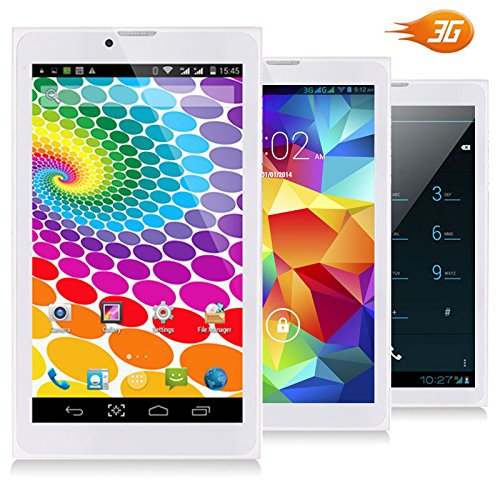 Indigi Phablet 2-in-1 SmartPhone 3G + WiFi Tablet PC 7in LCD Android 4.4 GSM UNLOCKED by inDigi