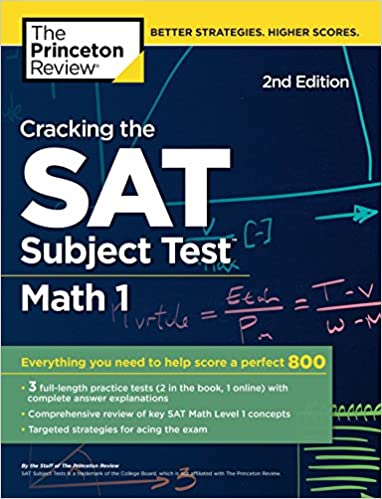 Buy Cracking the SAT Subject Test in Math 1, 2nd Edition: Everything