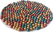 Mastiff Gears® 900/1200/1800 Pcs Heavier Clay Slingshot Ammo Ball, 3/8 inch, 9-10mm Hard Clay & Iron Powde