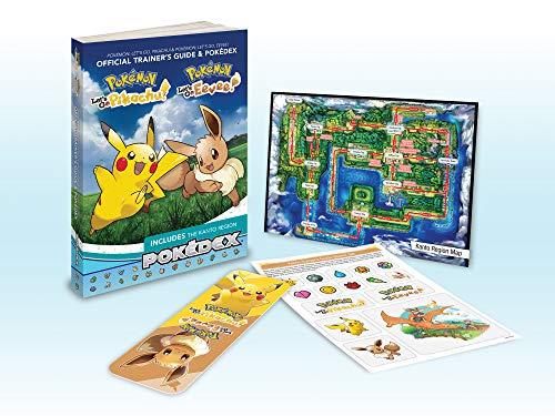 - Pokémon: Let's Go, Pikachu! & Pokémon: Let's Go, Eevee!: Official Trainer's Guide & Pokédex (Pokemon (Prima Official Guide/Official Pokedex Guide))