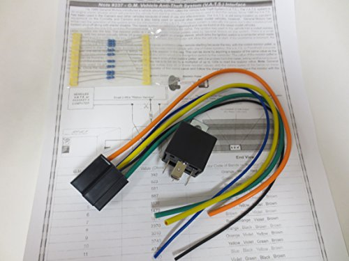 Omega AU-VAT GM VATS Passlock 1 & 2 resistor based anti theft Bypass Kit