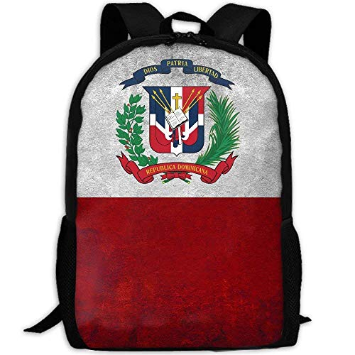 - YIXKC Backpack Adult Coat Of Arms Dominican Republic Shoulders Bag Daypacks