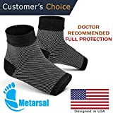 Foot Compression Socks with Ankle Support, Plantar Fasciitis Brace with Arch Support for Injury Recovery, Flat Feet, Foot Pain Relief, Eases Swelling, Heel Spurs, Achilles Tendon | Metarsal (S/M)