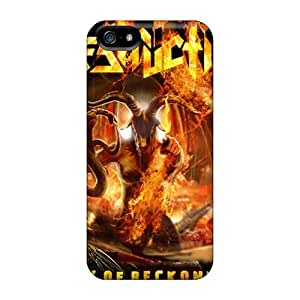 Marycase88 Iphone 5/5s High Quality Cell-phone Hard Covers Customized Attractive Destruction Band Pictures [gDo17874WcdJ]