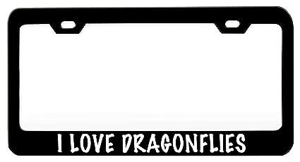 I Love Heart Viet Nam Palm Tree Metal License Plate Frame Tag Holder