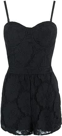 Monroe & Me MP-BLK-5-0314 Jumpsuit for Women - XS, Black