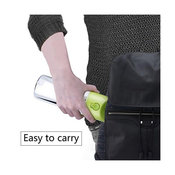 LC-dolida Dog Water Bottle for Walking Travelling, 400ml/14oz 5