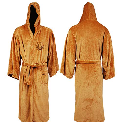 Star Wars Jedi Fleece Bathrobe (Medium/Tan) -